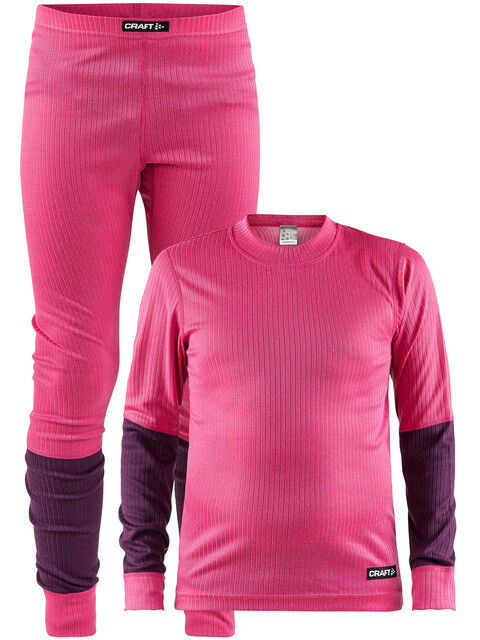 Craft Baselayer Set Ondergoed set Kinderen roze